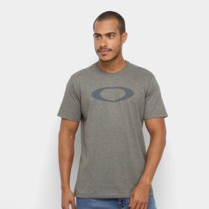 Camiseta Oakley O-Ellipse Tee Masculina - Verde escuro | R$37