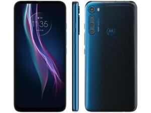 [Cliente Ouro] Smartphone Motorola One Fusion+ 128GB Azul Indigo   R$1487
