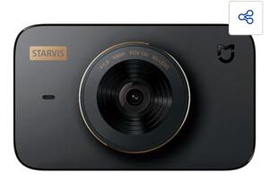 Câmera Veicular Xiaomi 1080P Wi-Fi Mi Dash Cam 1S, SD Card   R$850