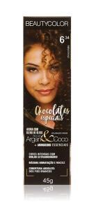 Beauty Color, Tintura Permanente 45G 6.34 Chocolate Unit (Min.2) | R$4,75