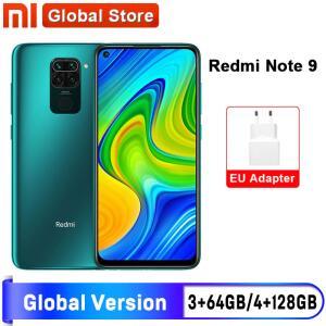 Smartphone Xiaomi Redmi Note 9 a partir de 3GB de RAM/64GB | R$831