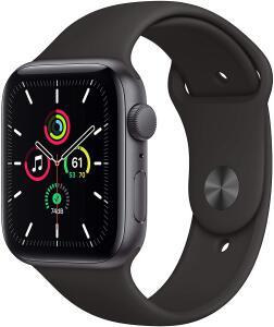 Apple Watch SE GPS, 40mm, Caixa Cinza Espacial de Alumínio com Pulseira Esportiva Preta - R$2368