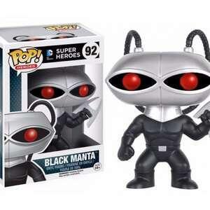 Black Manta 92 - Dc Comics Super Heroes - Funko Pop | R$70