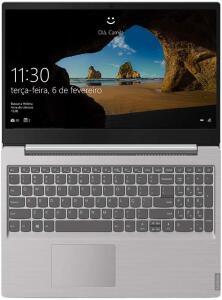 "Notebook Lenovo Core i3-8130U 4GB 1TB Tela 15.6"" R$2861"