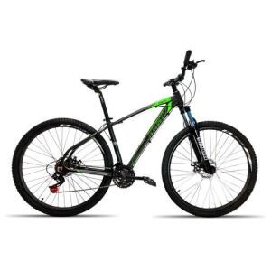 Bicicleta 29 High One 27V Kit Shimano Acera PT Verde T17