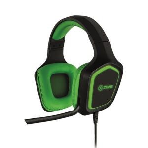 Headset Gamer com Suporte X-Zone GHS-02 - Verde | R$168