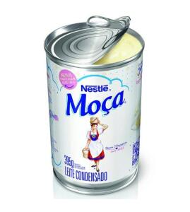 [APP] Leite Condensado Moça Lata 395g - Nestlé | mínimo 3 | R$2,99 cada
