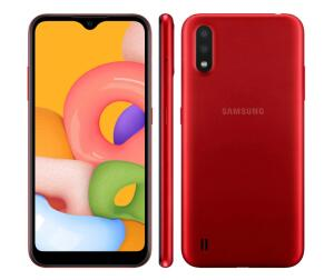Smartphone Samsung Galaxy A01 Vermelho 32GB | R$599
