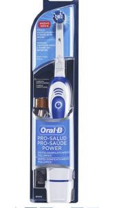 [PRIME] Escova Dental Elétrica Oral-B Pro-Saúde Power + Pilha Nanfeng , Oral-B | R$65