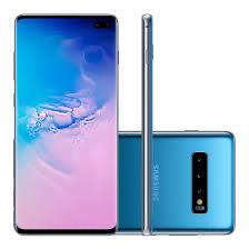"Smartphone Samsung Galaxy S10+, Azul, Tela 6.4"", 128GB | R$2609"