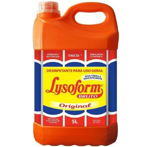 Desinfetante Lysoform Bruto Professional 5L | R$32
