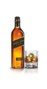 Whisky black label 750ml   R$89