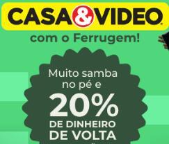 20% de volta na Live da Casa&Video pagando com PicPay