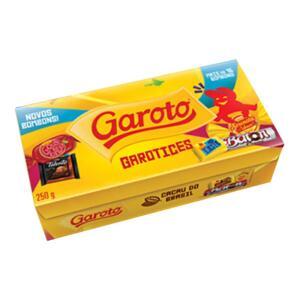 [Casa e Vídeo - Loja física + Chococash 50%] Caixa de Bombom Garoto - R$ 3,75