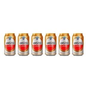 Cerveja Amstel 350ml (R$1,80/un) | R$21