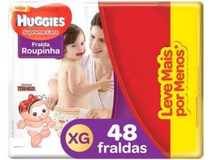 Fralda Huggies Turma da Mônica Supreme Care - Roupinha Tam. XG R$50