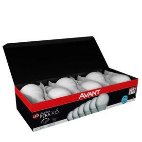 Kit 6 Lâmpadas Led 9W Avant Branca | R$ 30