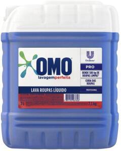 Detergente Líquido OMO Profissional Lavagem Perfeita 7L - R$54