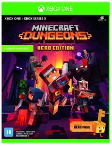 Minecraft Dungeons - Hero Edition (inclui Hero Pass) [XBOX ONE/SERIES] R$30
