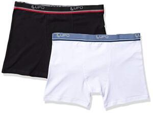 Kit 2 Cuecas Boxer - Lupo, Masculino | R$26