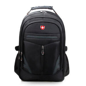 Mochila para Notebook Boavista, Bolso Frontal e 3 Compartimentos - Preta R$ 40