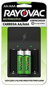 CARREGADOR PILHAS AA/AAA PS132-2BR R$75