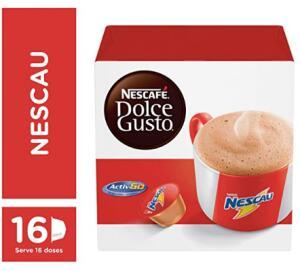 [PRIME] Café em Cápsula, Nescafé, dolce gusto, Nescau, 16 Cápsulas - R$20 (SE RECORRÊNCIA R$ 17,64)