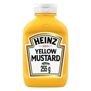 [PRIME] Mostarda Heinz Tradicional 255g - Mínimo 2 unidades | R$7