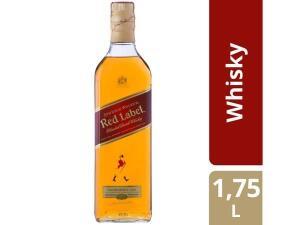 Whisky Johnnie Walker Escocês Red Label 1,75L | R$130