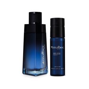 Combo Malbec Bleu: Desodorante Colônia 100ml + Body Spray 100ml | R$ 169