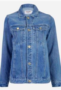 Jaqueta Feminina AMARO Jeans Basic Azul Claro | R$100