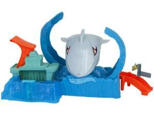 Pista Hot Wheels City Robô Tubarão - Mattel GJL12 | R$144