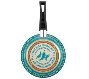 Frigideira Francesa Rochedo Viva Antiaderente - 24 cm | R$30