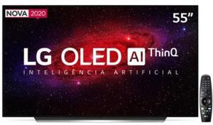 "Smart TV OLED 55"" UHD 4K LG OLED55CX | R$5.509"