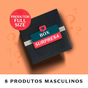 Combo Surpresa Masculino (8 itens) Full Size   R$ 200
