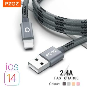 Cabo USB para iPhone 11/12 PZOZ R$8