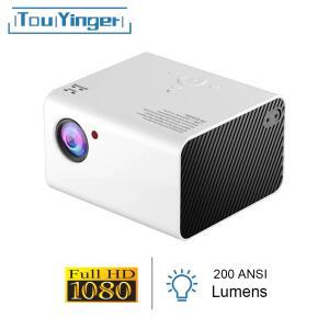 Projetor de vídeo 1920*1080p Touyinger R$747