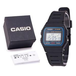 Relógio Mascunilo Digital F-91w F91 Unissex C/ Caixa E Nf R$114