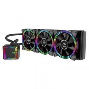 Water Cooler Alseye H360 Black, 360mm, RGB, Intel-AMD | R$476
