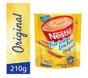 Farinha Láctea, Nestlé, Tradicional, 210 g (min.2 + recorrência) | R$4,35