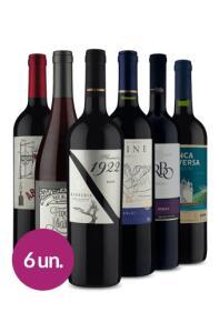 Winebox Sexteto Tintos Especiais - R$200
