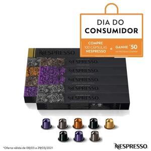 [R$188 - AME] 100 Cápsulas Nespresso R$250