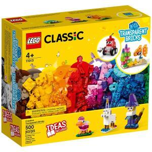 LEGO Classic Blocos Transparentes Criativos 11013 - 500 Peças - R$192