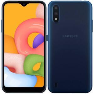 "Samsung Galaxy A01 Dual Chip Android 10.0 Tela 5.7"" R$599"