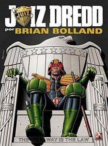 Juiz Dredd por Brian Bolland R$17