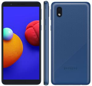 Smartphone Samsung Galaxy A01 Core Azul 32GB | R$ 499