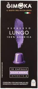 (Prime) Cápsula Café Gimoka Lungo compatível Nespresso | R$12