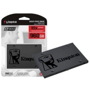 HD SSD 960GB Kingston SA400S37/960G 450/500 MBps | R$ 597