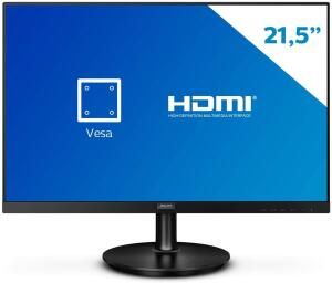 "Monitor Philips 21.5"" LED WVA HDMI Bordas Ultrafinas 221V8A   R$ 549"
