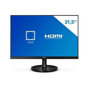 "Monitor Philips 21.5"" LED WVA HDMI Bordas Ultrafinas 221V8A | R$549"